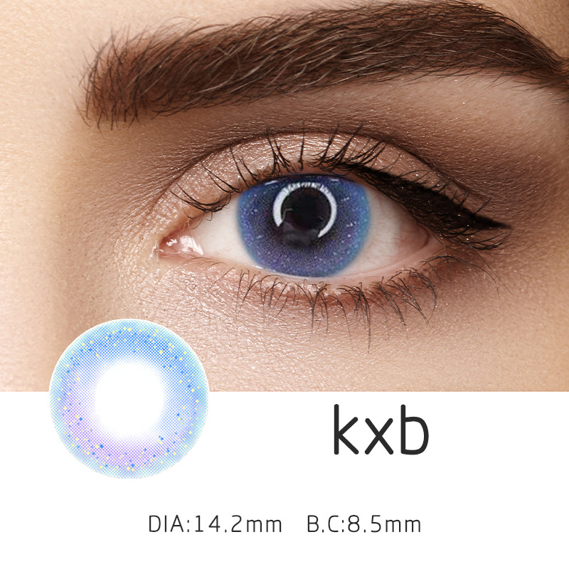 Mrs. H Colored Contact Lenses KXB 14.2mm 1 Pair
