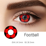 Mrs. H Colored Contact Lenses football2 14.5mm 1 Pair