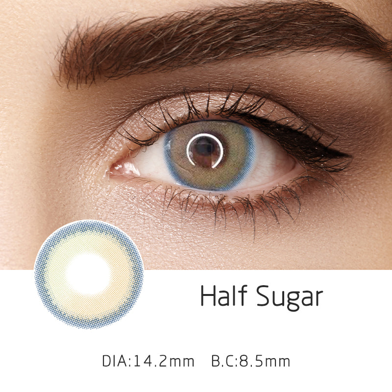 Mrs. H Colored Contact Lenses Sunset 14.20mm 1 Pair