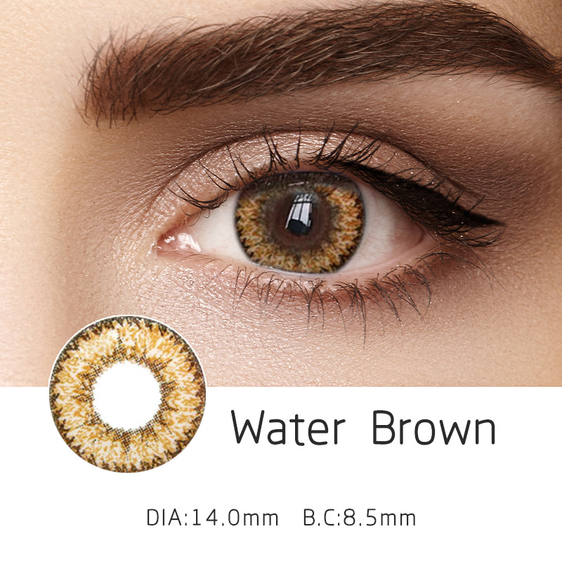 Mrs. H Colored Contact Lenses Water 14.00mm 1 Pair