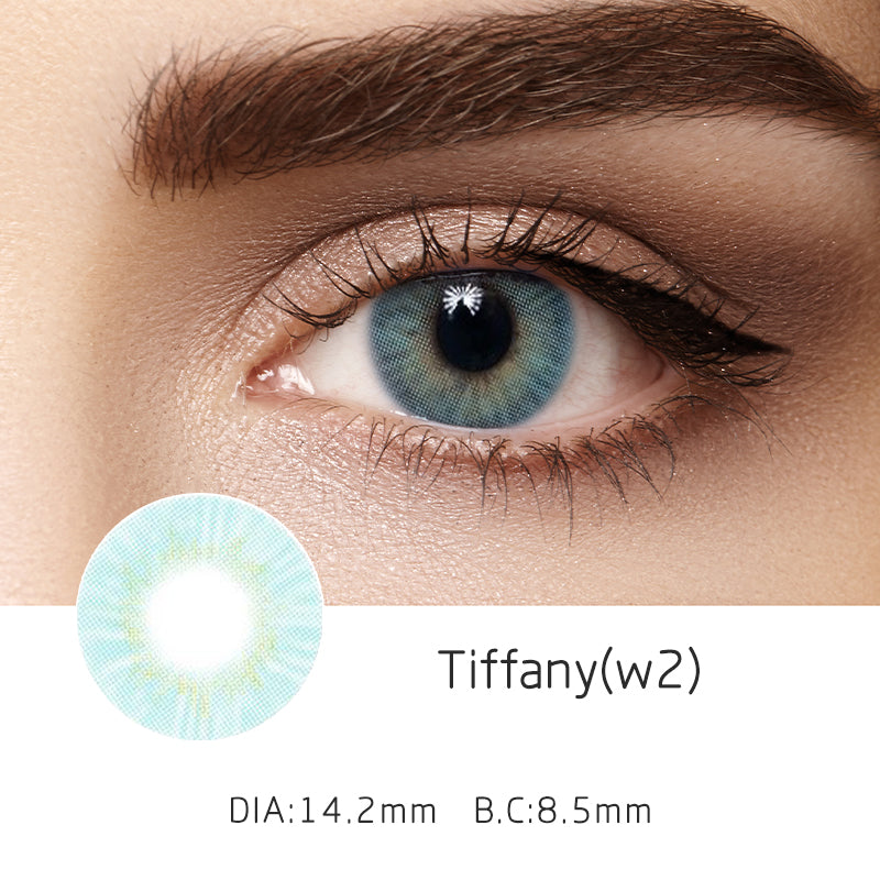 Mrs. H Colored Contact Lenses Tiffany 14.2mm 1 Pair