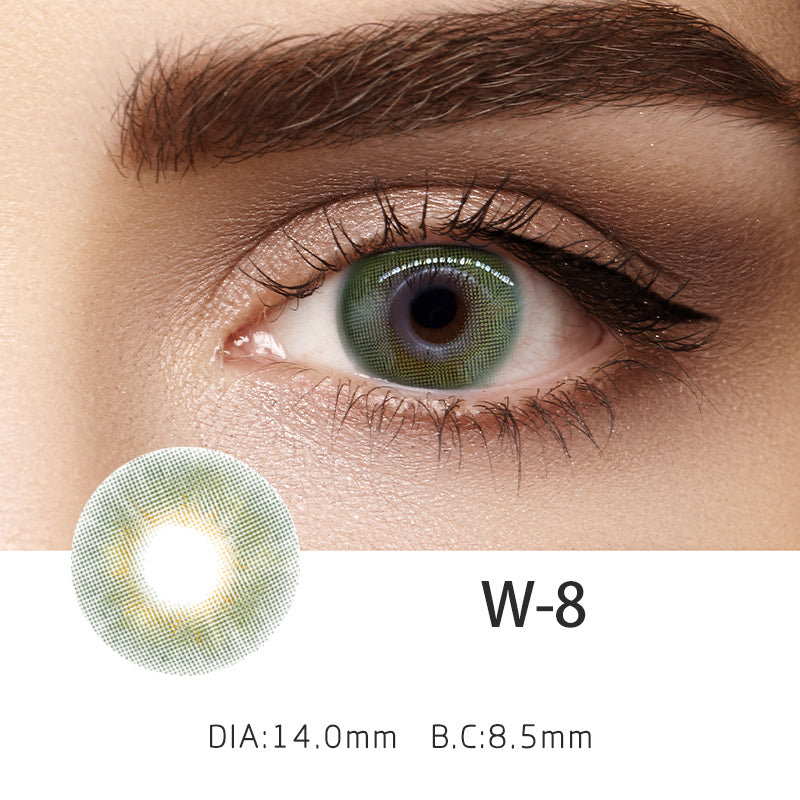 Mrs. H Colored Contact Lenses W8 14.2mm 1 Pair