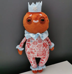 Gingerbread Prince Art Doll