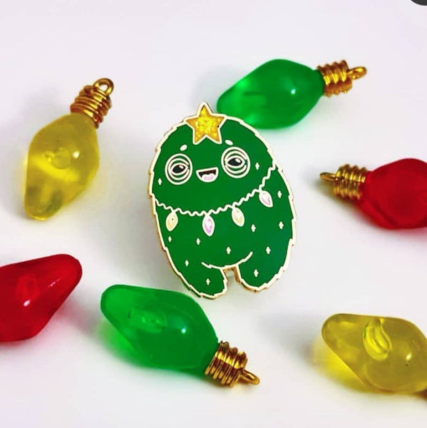 Christmas Tree Yoodle Pin