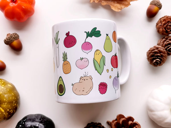 Fruits & Veggies Mug