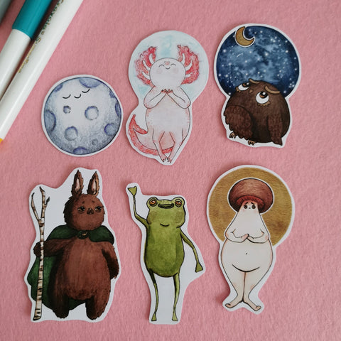 Watercolour Sticker Pack