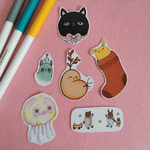 Digital Art Sticker Pack