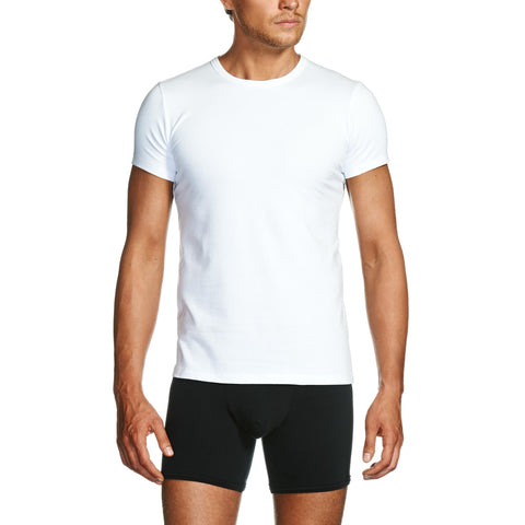 Package White Crew Neck T-Shirt