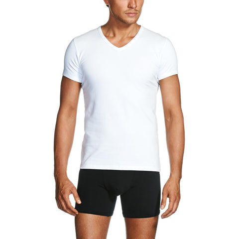 Package White V-Neck T-Shirt