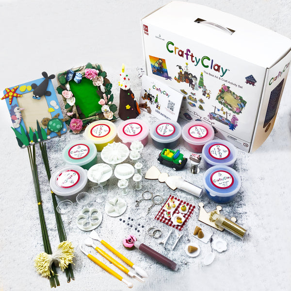 GCS01 | Air Dry Clay Modeling Set | Best Gift Box | Free Shipping (60% - BY Transportation