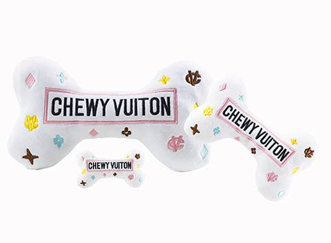 Haute Diggity Dog - White Chewy Vuiton Bones - BY Transportation