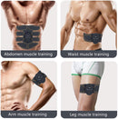 Abs Stimulator Muscle Trainer for Men Women Abdominal Work Out Power Fitness Abs Muscle Training Gear Equipment Portable - Karbro