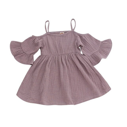 Brand Cute baby girl dress Summer Princess Dress - BY Transportation