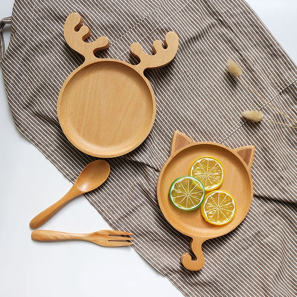 Animated Wooden Tray - BY Transportation