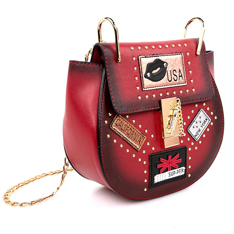 OH Fashion Handbag USA Nights Red Wine - Karbro