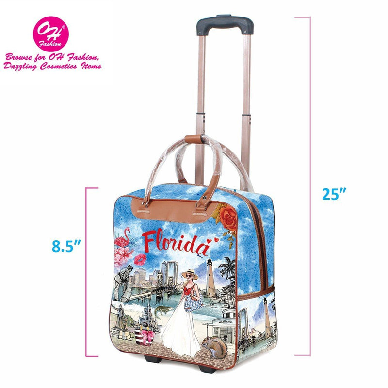 OH Fashion Luggage Carry On Florida Vibes - BY Transportation