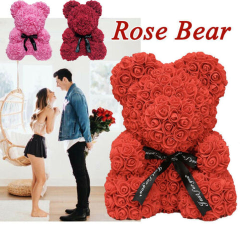 Rose Bear Teddy Bear