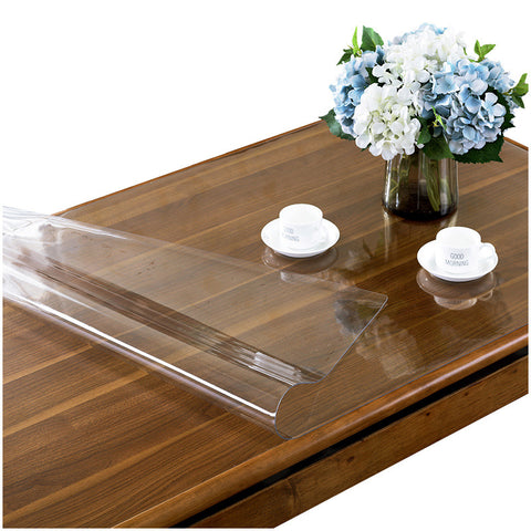 Soft Glass Tablecloth Transparent
