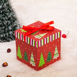 Lovely Square Candy Box Christmas Party Favour Gift Boxes