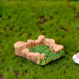 Micro Landscape Grass Lovers figurine home decor miniature