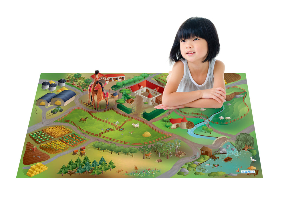 PLAYMAT QUADRI FERME CONNECT QUADRI