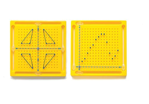 X-Y Coordinate Peg Board