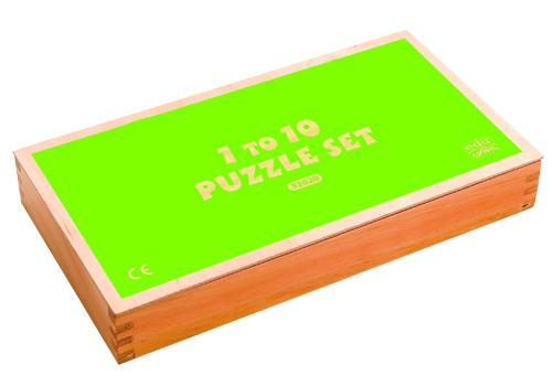 1 To 10 Puzzle Set-English