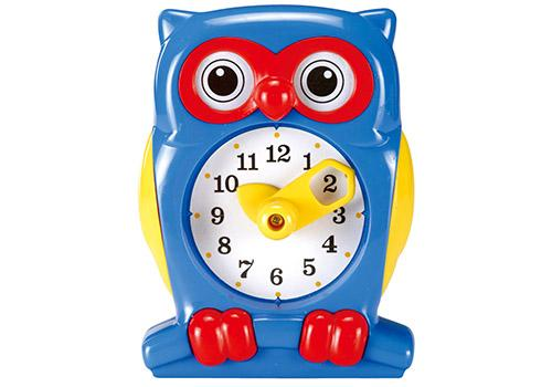 Owl Teaching Clock