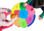 Perinoland (Plastic board with 4 colours spinning tops )