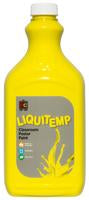 Liquitemp Poster Paint 2L Brilliant Yellow