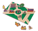 City<br />Double Sided Play Board<br />10705