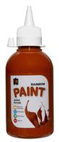 Rainbow 250ml Burnt Sienna