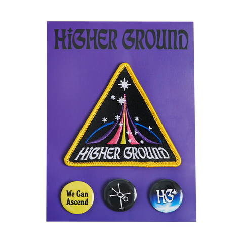 Mission Patch (w/ Pins)