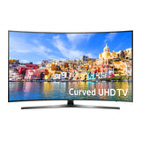 "Samsung 55"" SMART CURVED 4K TV"