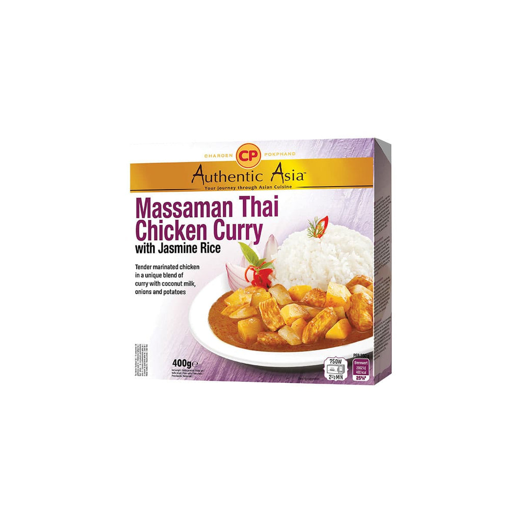 Riso con pollo e curry massaman 350g di Cp