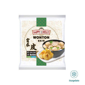 Sfoglie per wanton 110mm 300g di Happy belly