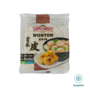 Sfoglie per wanton 90mm 300g di Happy belly