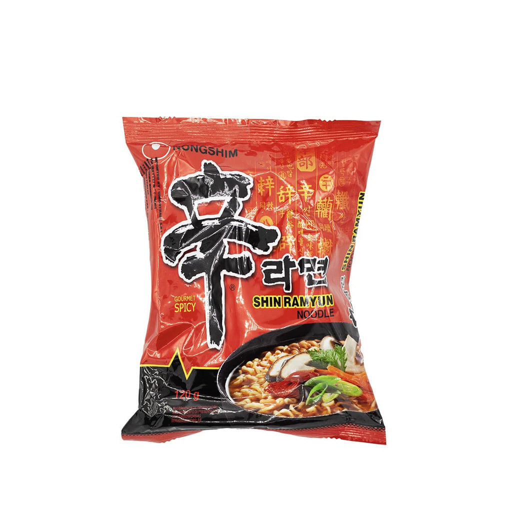 Shim ramyun noodle spicy  Nongshim