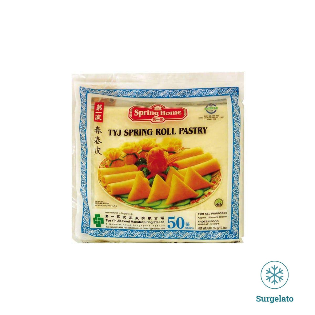 Spring roll pastry 190mm di Spring Home