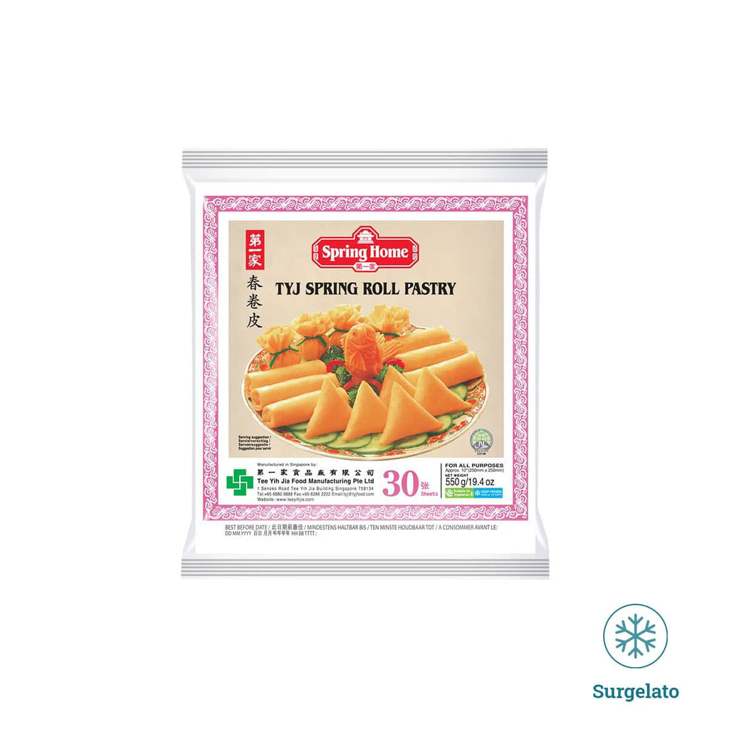 Spring roll pastry 250mm di Spring Home