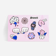 Sticker Sheet Cute Nugs - Hashhons