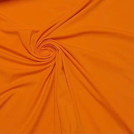 Bright Orange Cotton Jersey