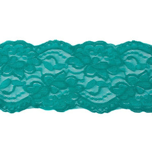 Petrol 8cm Stretch Lace (4693606006881)