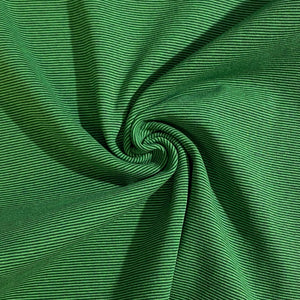 Light Green/Dark Green 1mm Stripe Ribbing (4729210404961)