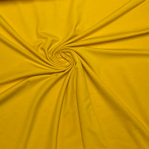 Sunflower Yellow Cotton Jersey