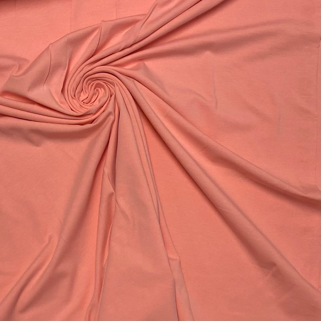 Peach Cotton Jersey