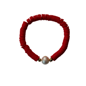 PULSERA COLOR PERLA