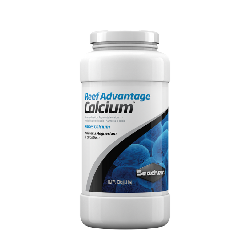 Seachem Reef Advantage Calcium 500G - RBM Aquatics