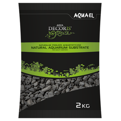 Aquael Aqua Decoris Basalt Gravel 2Kg - RBM Aquatics