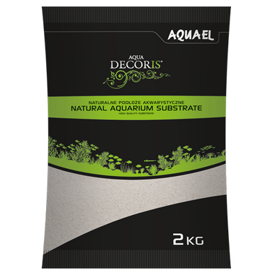 Aquael Aqua Decoris Quartz Sand 0.1 - 0.3Mm 2Kg - RBM Aquatics